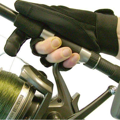 перчатка для заброса удилища