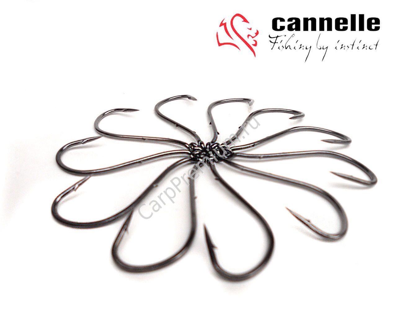 крючки рыболовные cannelle