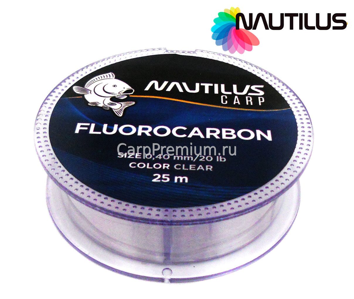 Леска Salmo Team Fluorocarbon Ice Soft 030/057 TS5024-057