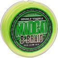 Плетеный шнур на сома 0.40 мм MadCat (МэдКэт) - G2 8-Braid Main Line Fluoro Green 40.8 кг / 90 lb, 270 м