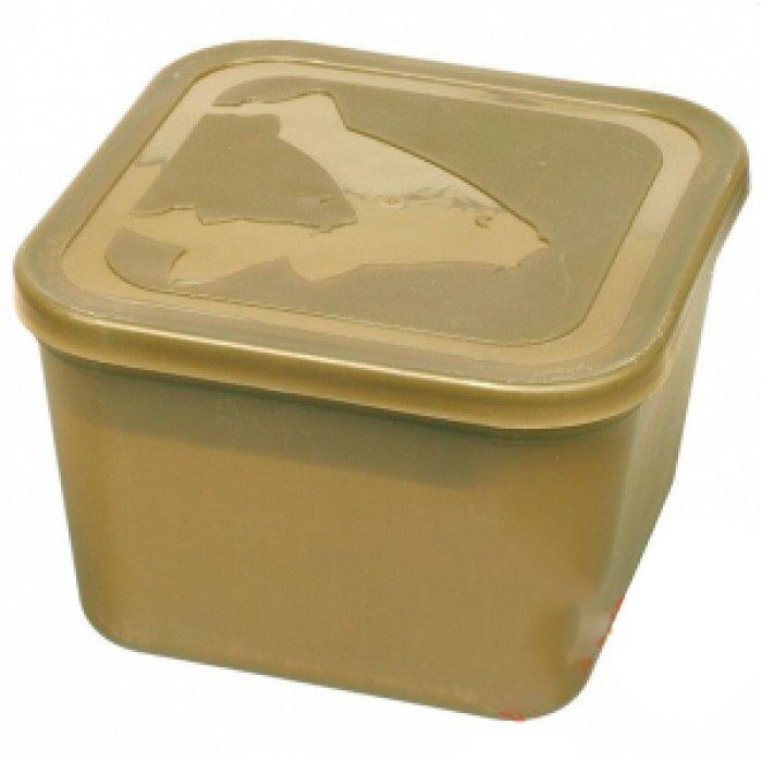 Avid Carp Bait Tub Deep Tub With Lid /& Divider